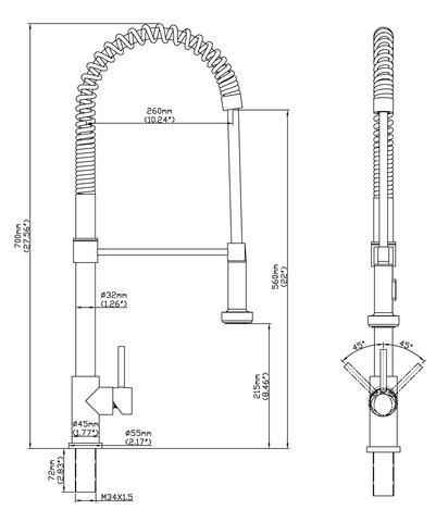 KPS3031 Niagara CAD Drawing 400