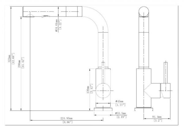 KPS3032C CAD Drawing 640