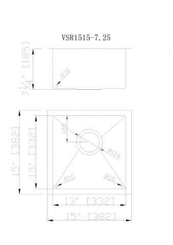 VSR-1515 CAD Drawing 340