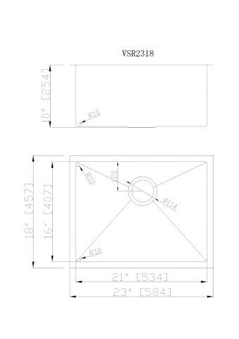 VSR-2318 CAD Drawing 340